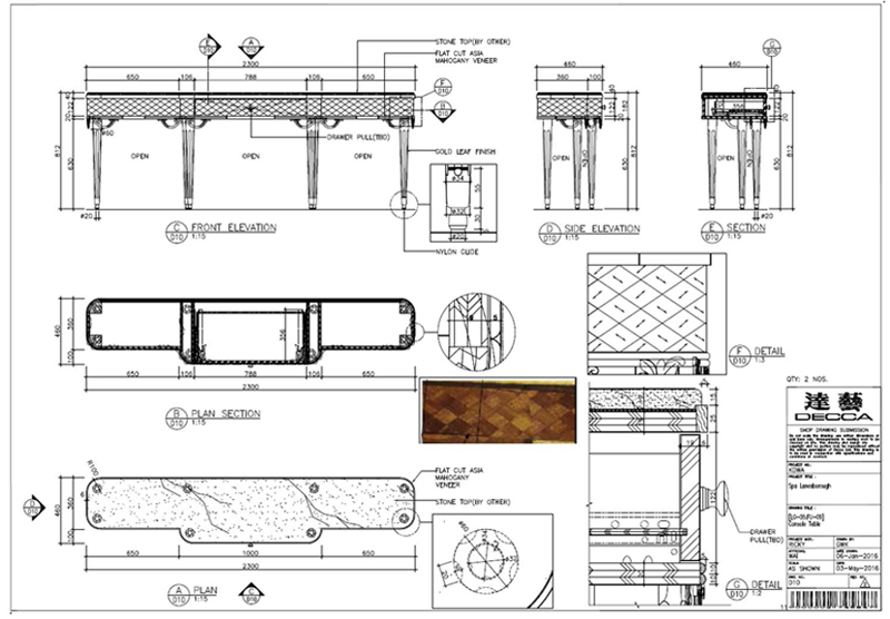 Decca Europe Bespoke Process Craftsmanship