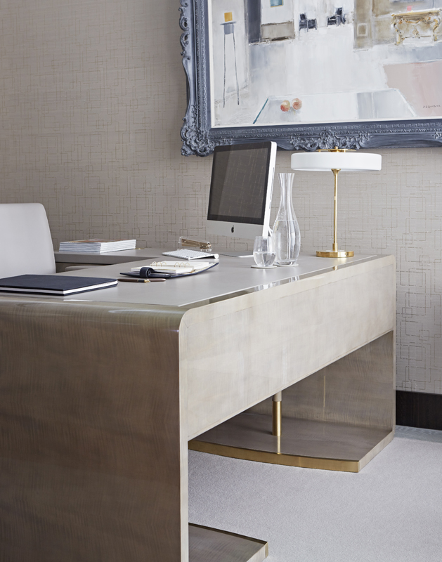 Decca Europe Executive Desk Craftsmanship