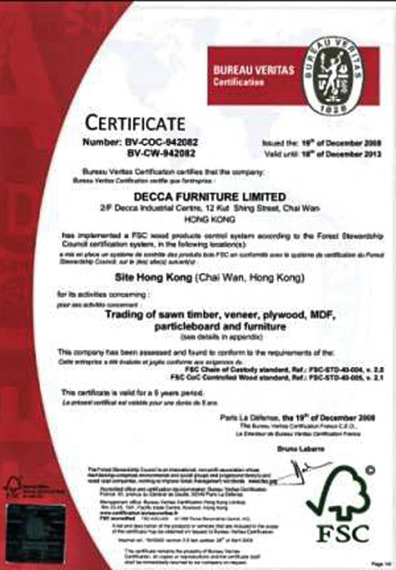 Decca Europe Green Credentials