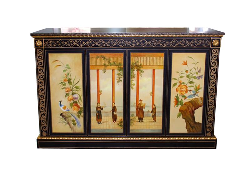 Decca Europe Chinoiserie Hand Painting