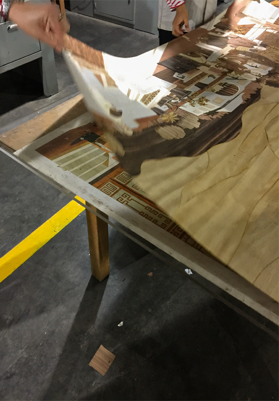 Decca Europe Marquetry Craftsmanship