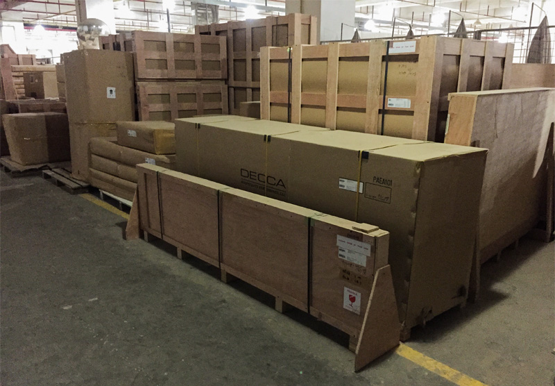 Decca Europe Packing and Shipping Craftsmanship