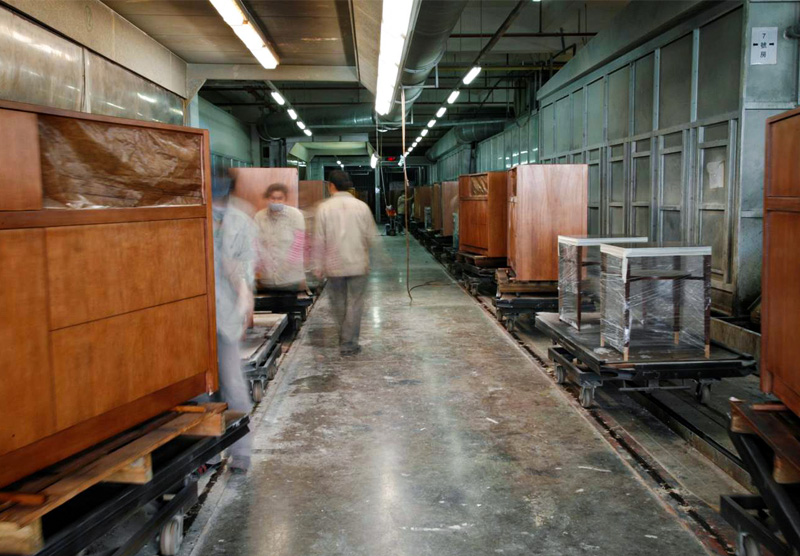 Decca Europe Staining and Finish Craftsmanship