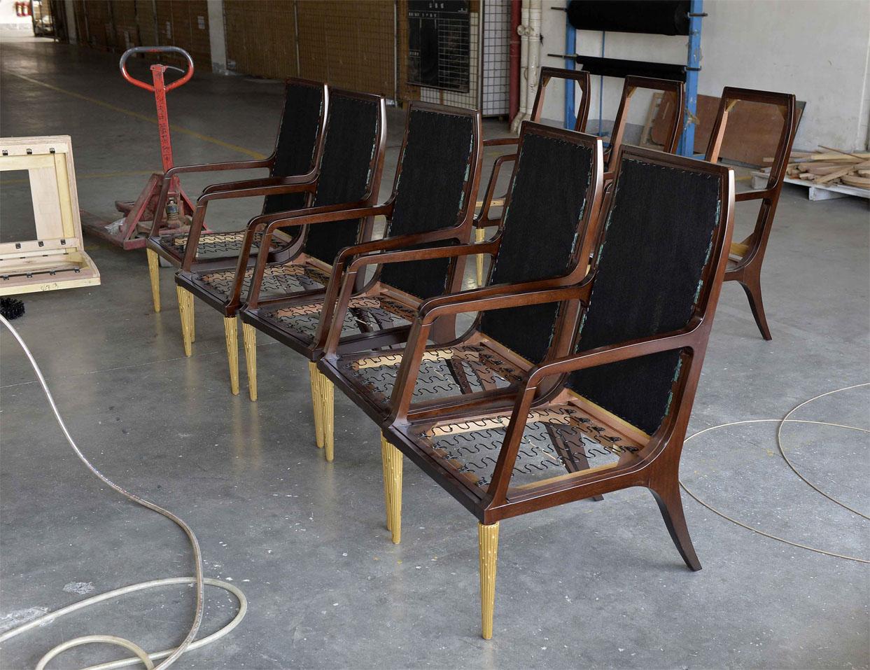 Decca Europe Upholstery Craftsmanship