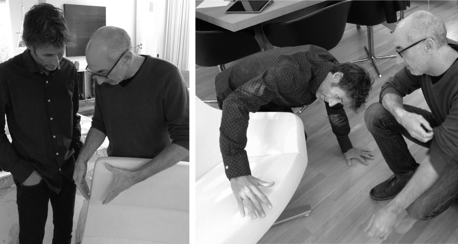 David Ritch and Mark Saffell of 5D Studio // Interview with Decca London // Contract furniture