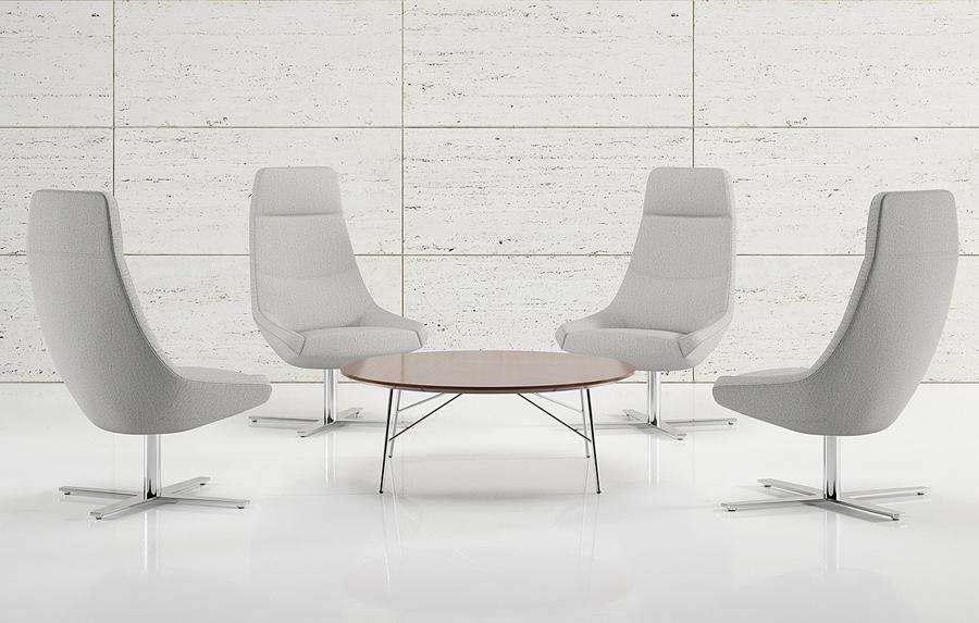 Bing Work Lounge Chair // Luxury office furniture by Decca London