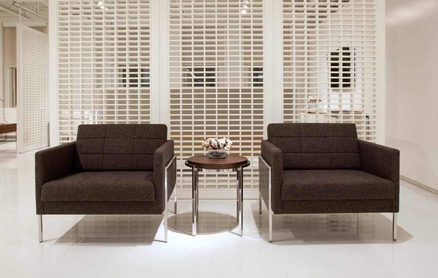 Lounge chair from the Ethos Collection designed by Mark Saffell and David Ritch for Decca Contract by Decca // Decca London