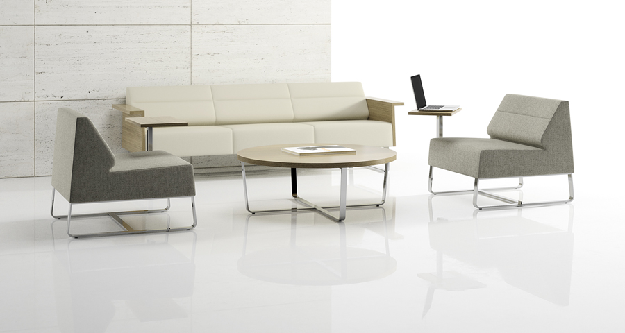 Float Collection designed by David Ritch and Mark Saffell of 5D Studio for Decca Contract by Decca and Decca Contract // luxury office furniture // lounge seating // executive office furniture