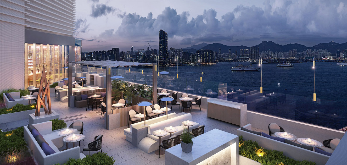 Hyatt Centric Victoria Harbour Hong Kong AFSO Architects