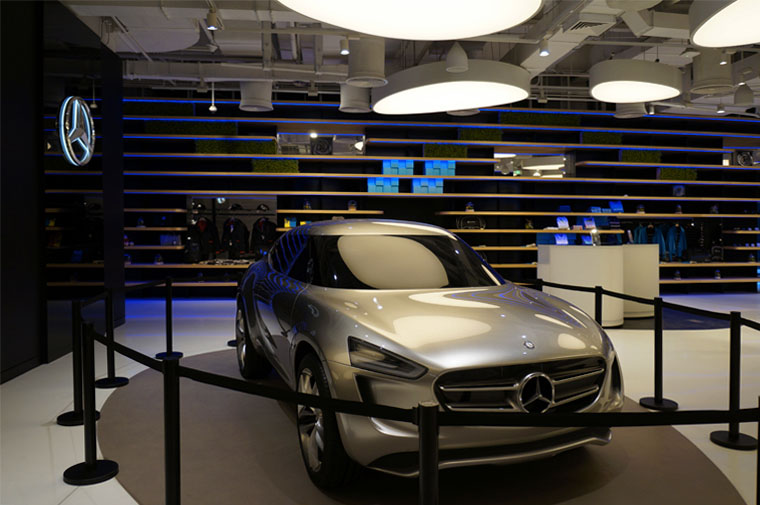 Mercedes Shop - Concept Car