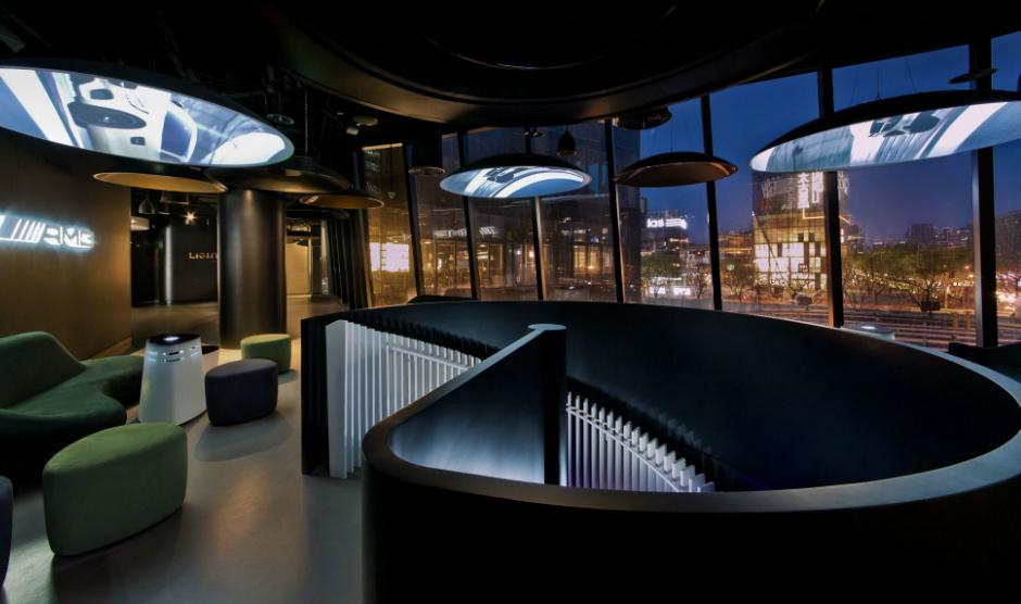 Mercedes AMG lounge