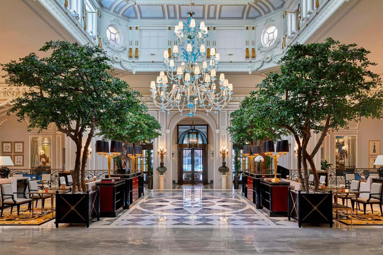The St Regis Rome Lobby Pierre-Yves Rochon