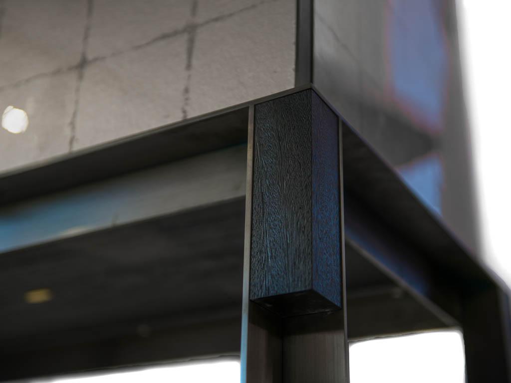Abbote Veal Design_Decca London_Minibar_detail_resin finish