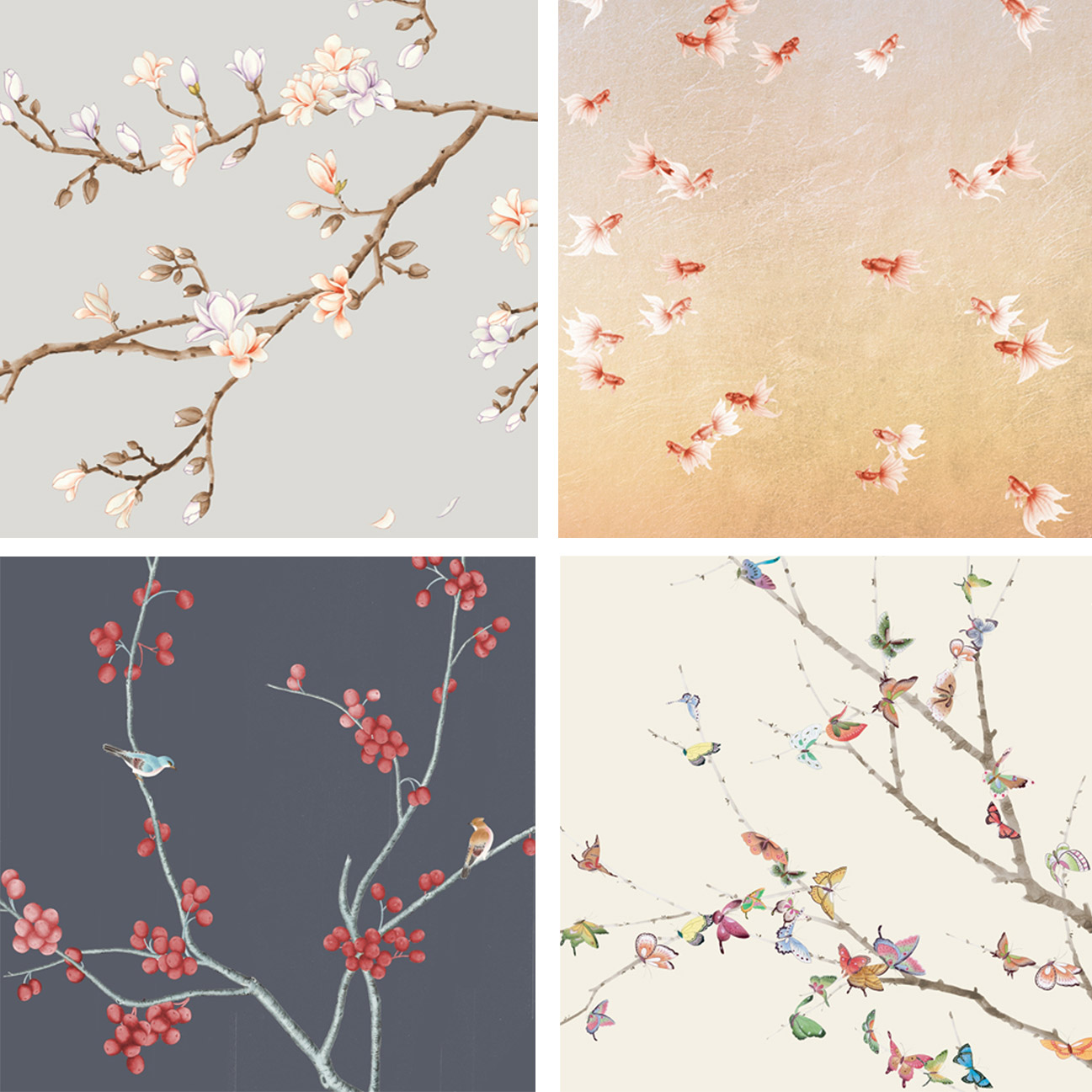 David Qian Wallpaper-Abbate Veal Design-Fusion Collection-Decca London2