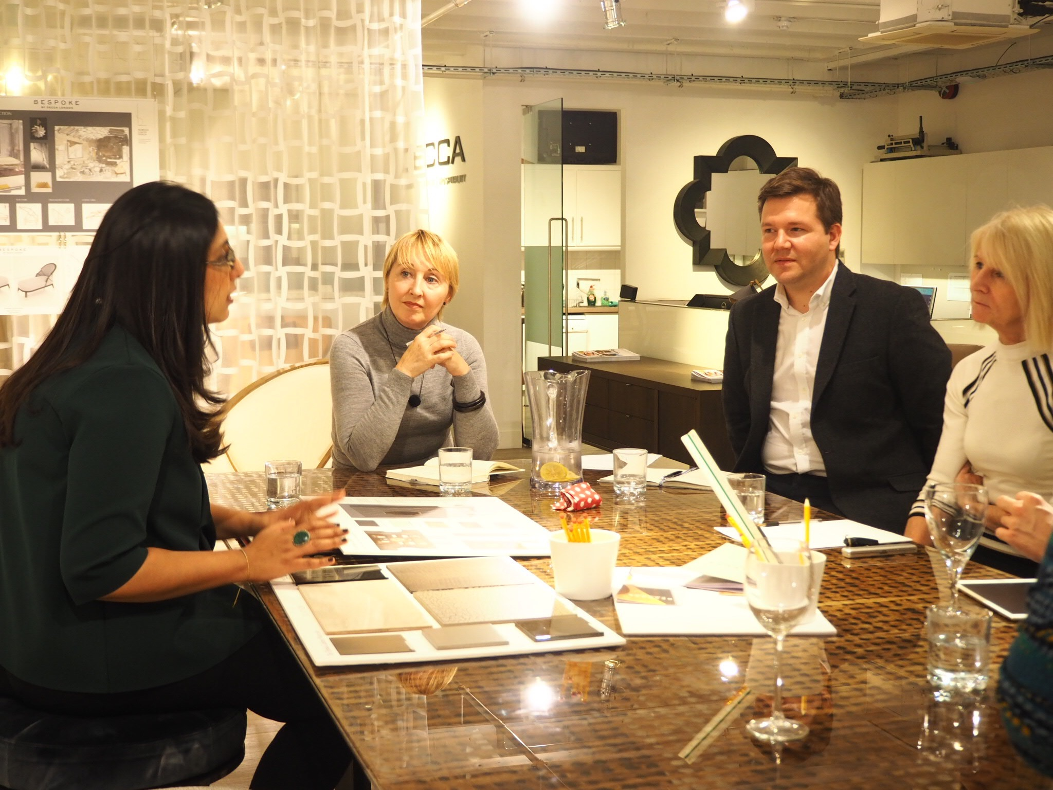 Charu of Elicyon at the judging evening-Bespoke By Decca London