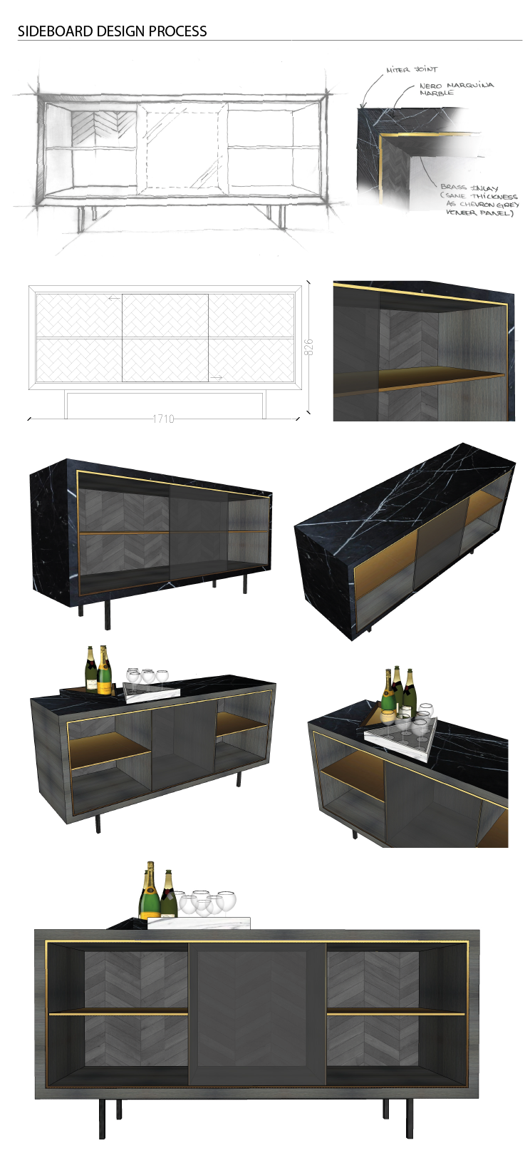 Winning Collection of the Bespoke By Decca project by Landmass London
