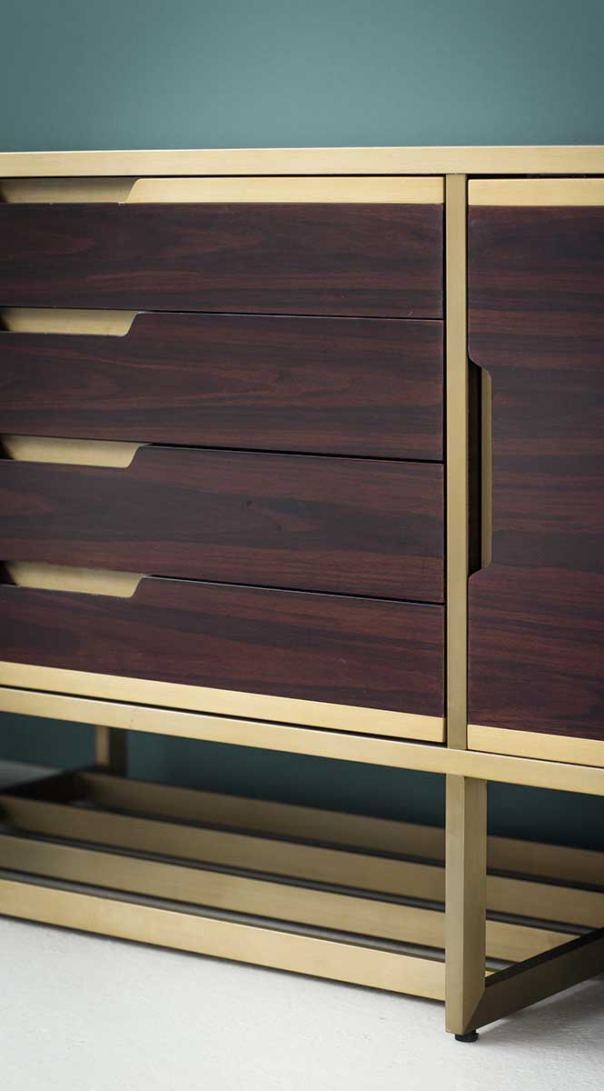 Bert Frank furniture_Sideboard_Credenza_detail_mid-century modern furniture_Decca London