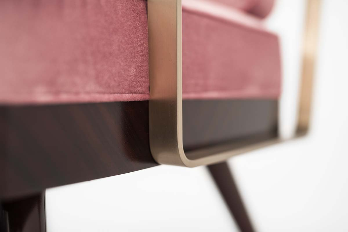 Bert Frank_Armchair detail_mid-century modern furniture_Decca London