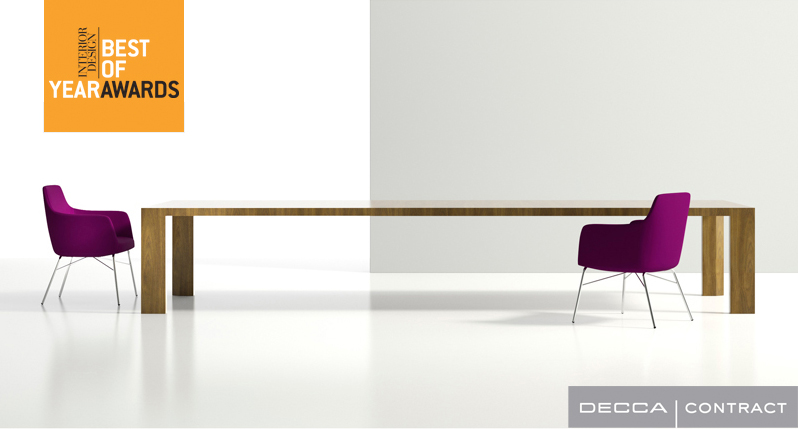 Ratio Conference Table designed by Brian Graham for Decca Contract