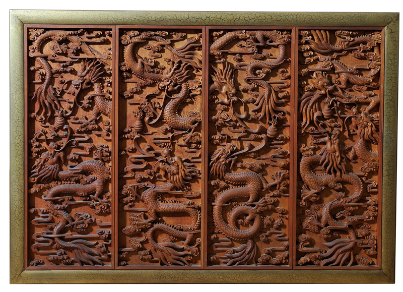 Traditional Chinese Screen // Decca