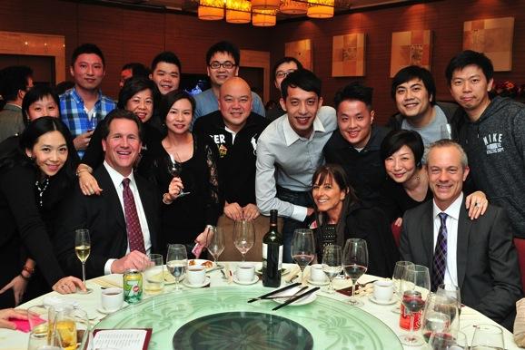 Decca Employees celebrating Chinese New Year