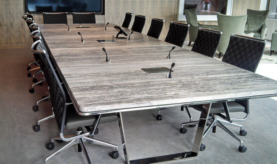 High End Conference Room Tables For Decca