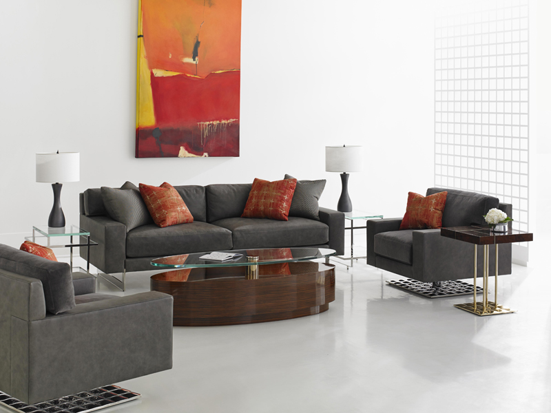 Cosmopolitan By Dakota Jackson - Decca London - luxury living room - luxury lounge seating - coffee table