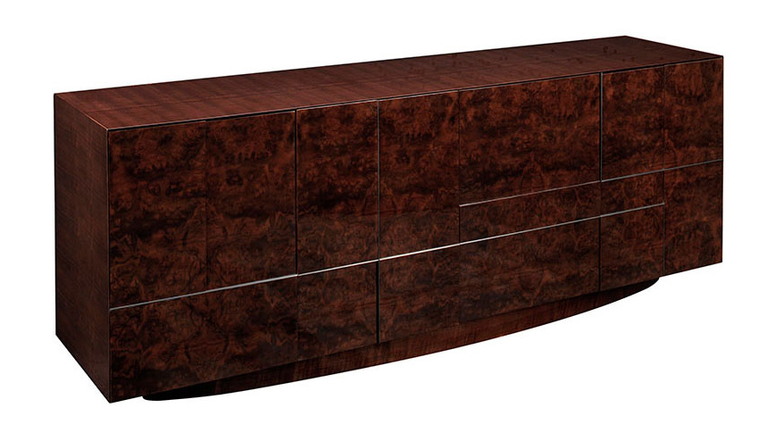 Cosmopolitan By Dakota Jackson - Decca London - Kingsley Buffet - luxury furniture - luxury dining room - high gloss furniture