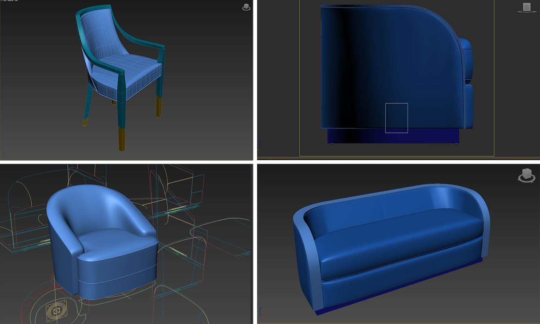 Custom-Decca-3D-model-furniture-design-unbuilt-visualisation