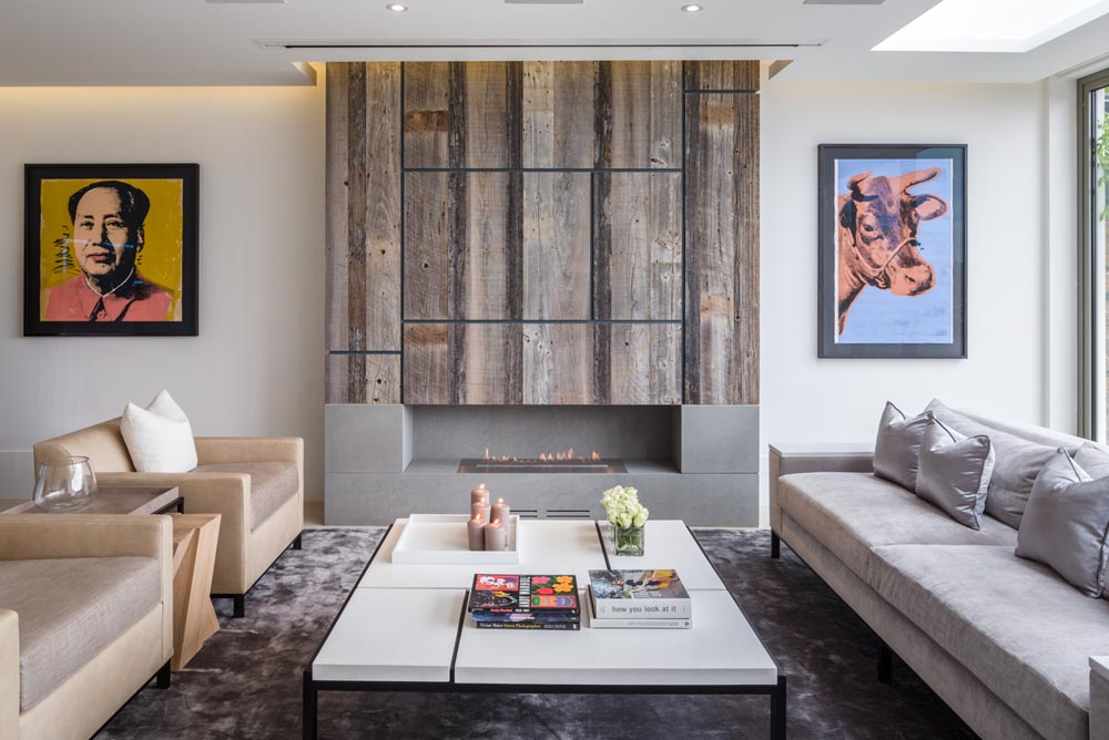 Decca London-residential projects-Michael Veal-living room-bespoke furniture