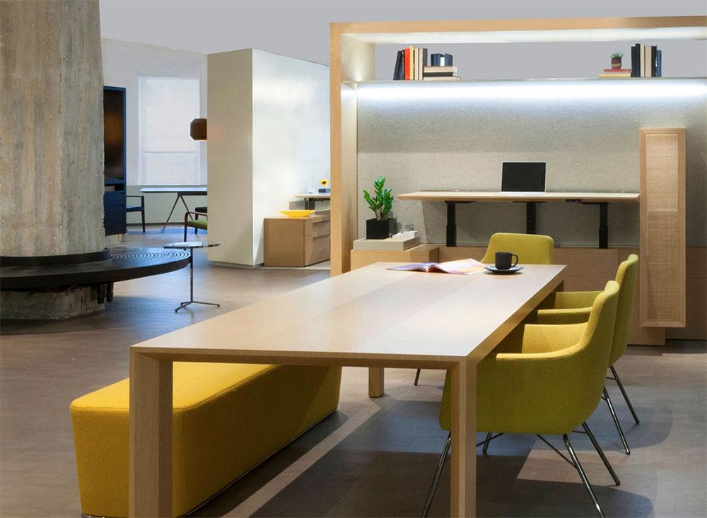 FramWork_Brian Graham_Decca Contract_modern workspace_NeoCon showroom