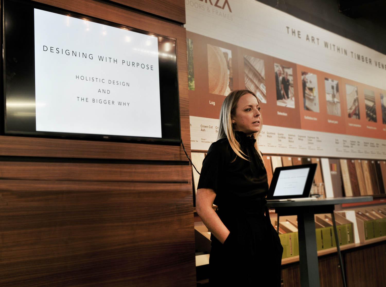 Erin Ruby at Clerkenwell Design Week 2018
