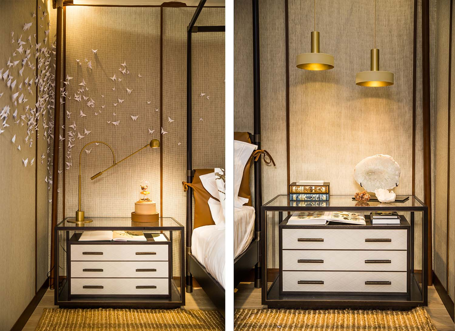 Bedside tables-HBA London-Sleep Eat event 2018-Decca
