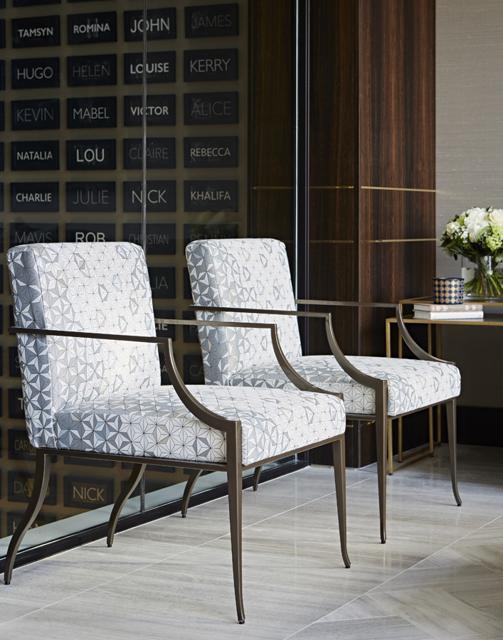 Decca London-Interview with Karen Howes of Taylor Howes-Cheval Place-office interiors-berkley chairs-bolier