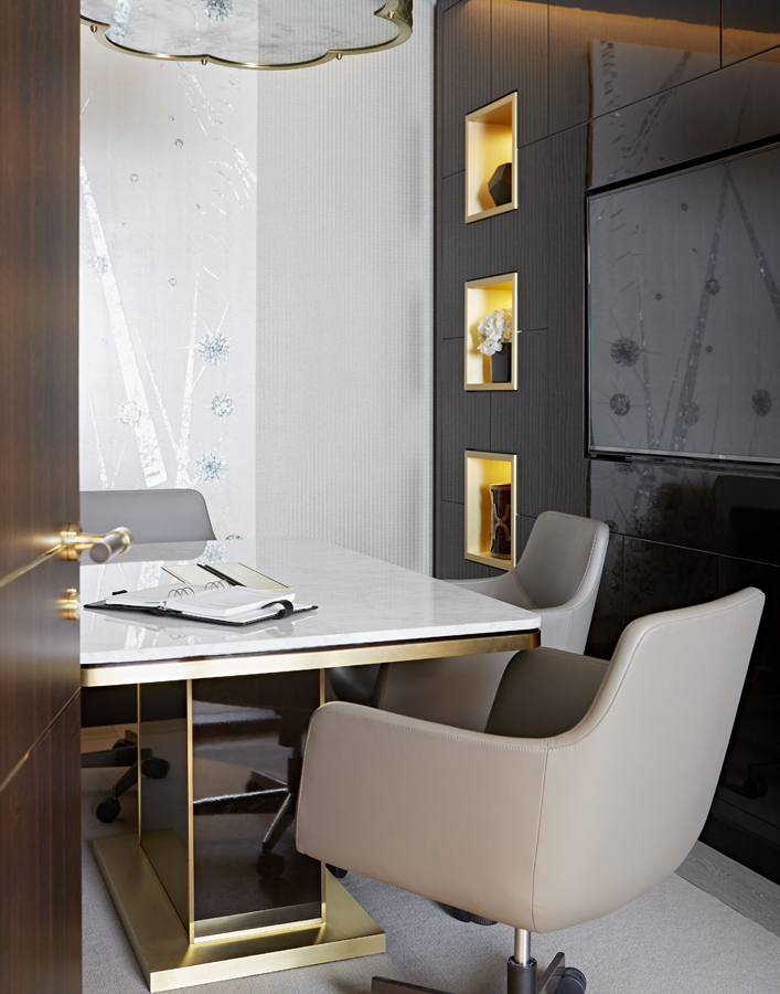 Decca London-Interview with Karen Howes of Taylor Howes-Cheval Place-office interiors-conference room-conference table by Decca London