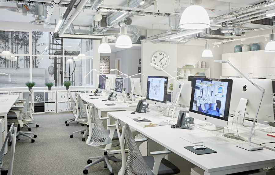 Decca London-Interview with Karen Howes of Taylor Howes-Cheval Place-office interiors-desks