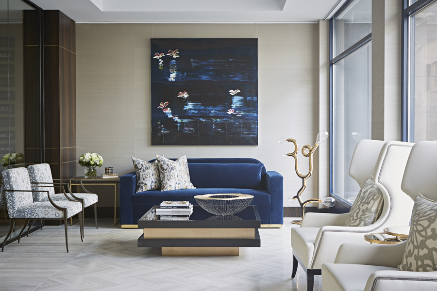 Decca London-Interview with Karen Howes of Taylor Howes-Cheval Place-office interiors