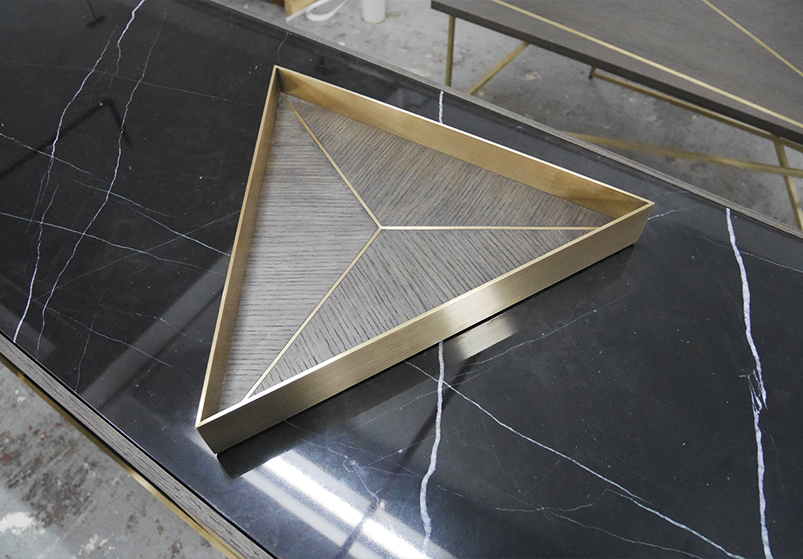 Landmass London_Decca factory visit_credenza and drinks tray