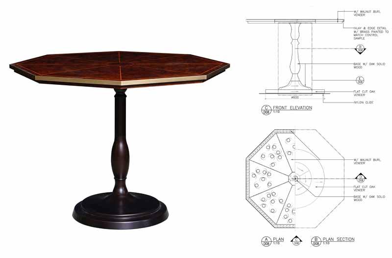 Lanesborough-club-spa-restaurant-decca-london-hexaginal-coffee-table