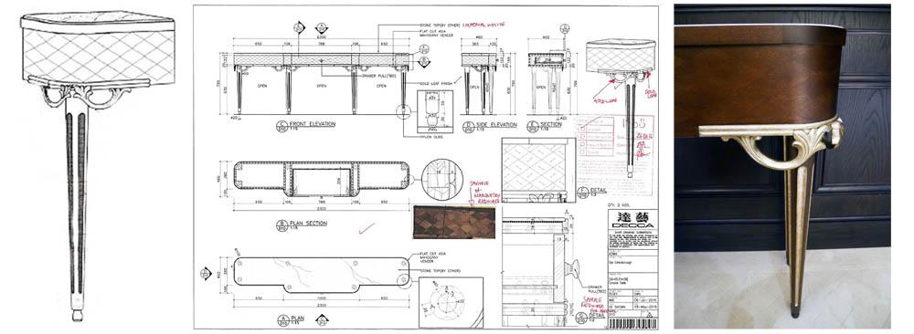 Lanesborough-spa-club-console-drawing-detail