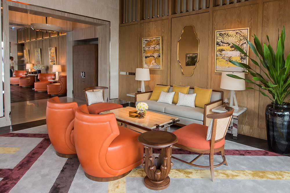 Ritz Carlton Residences bespoke furniture by Decca