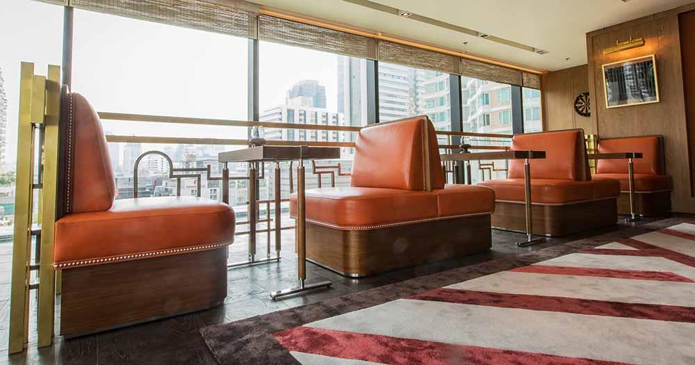 The Ritz Carlton Residences David Collins x Decca entertainment room