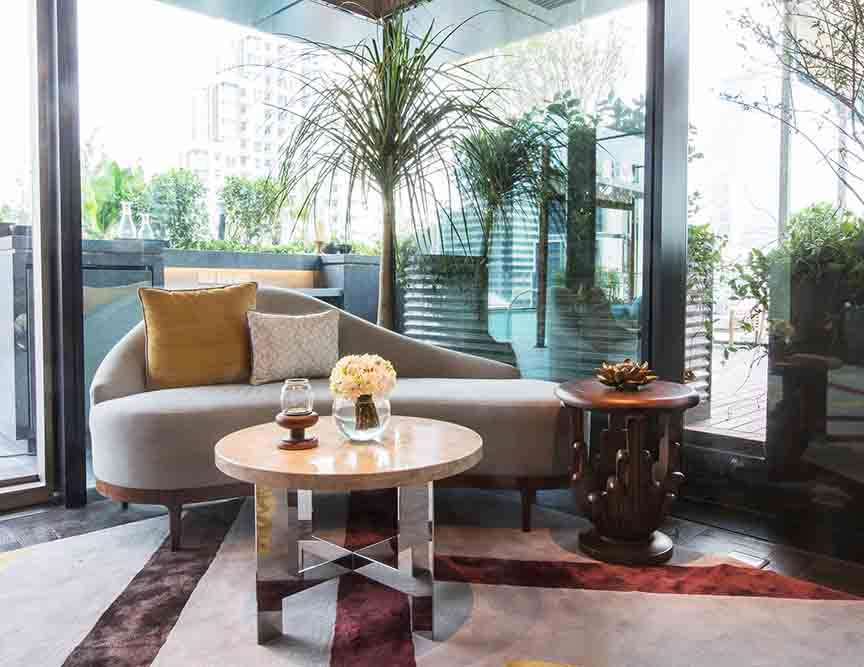 The Ritz Carlton Residences David Collins x Decca public areas