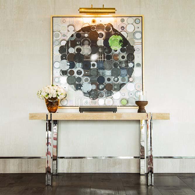 The Ritz Carlton Residences MahaNakhon bespoke console