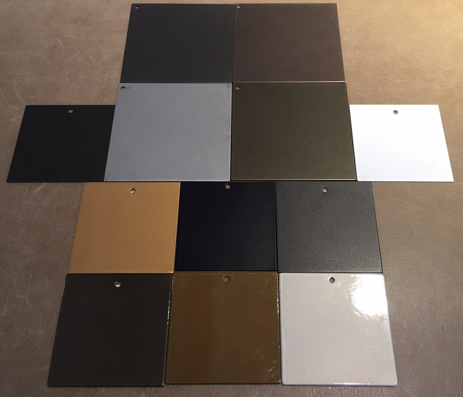 Decca Powdercoated Metal Finishes