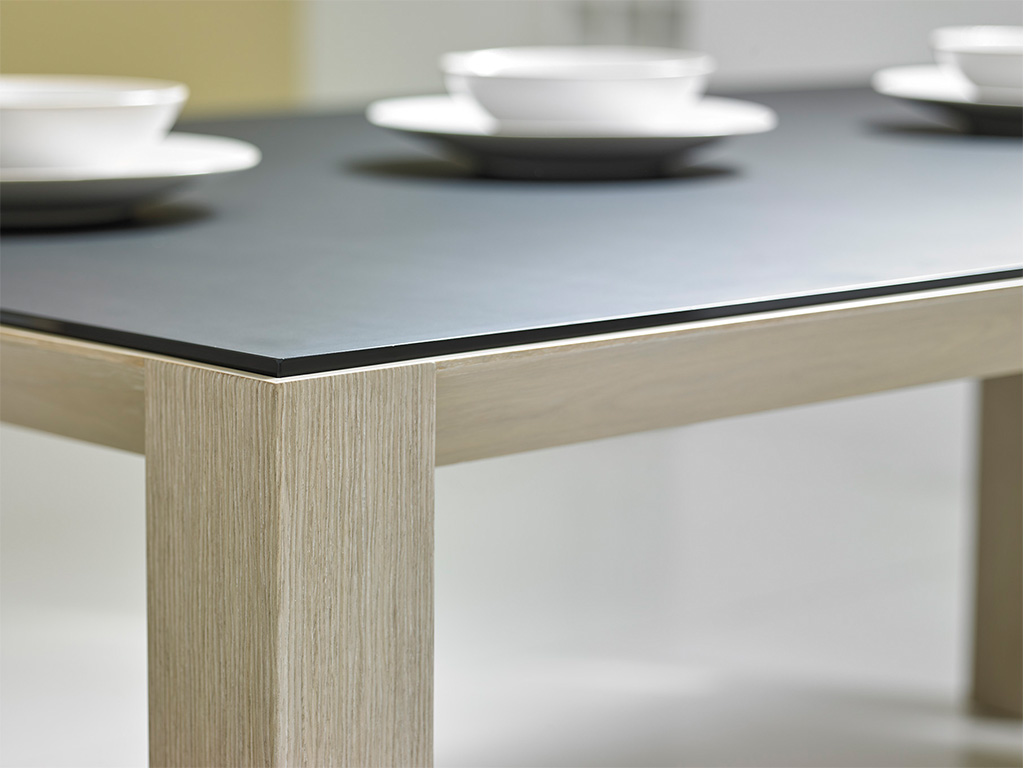 65025 Bevel Dining Table (detail)-Domicile-Modern Desert-Bolier-Decca