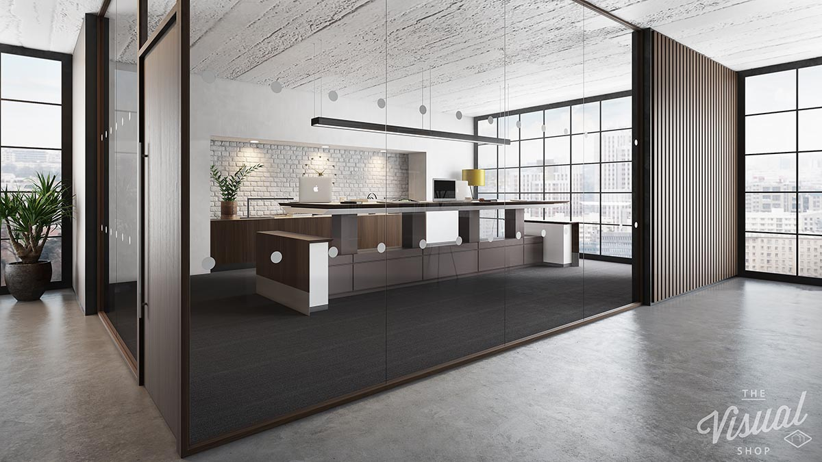 Decca Height adjustable conference table-Decca London-The Visual Shop