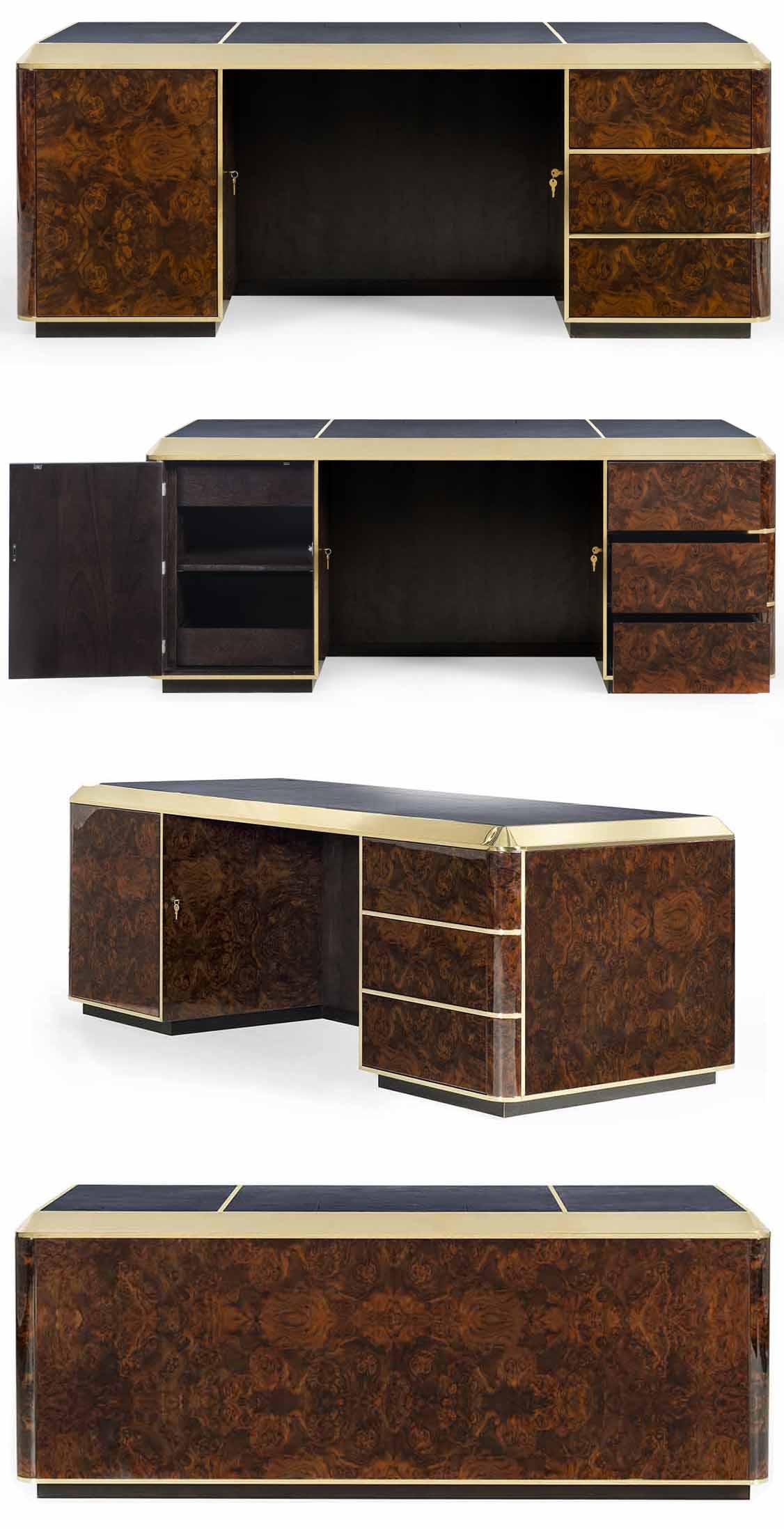 Bespoke desk by Decca London