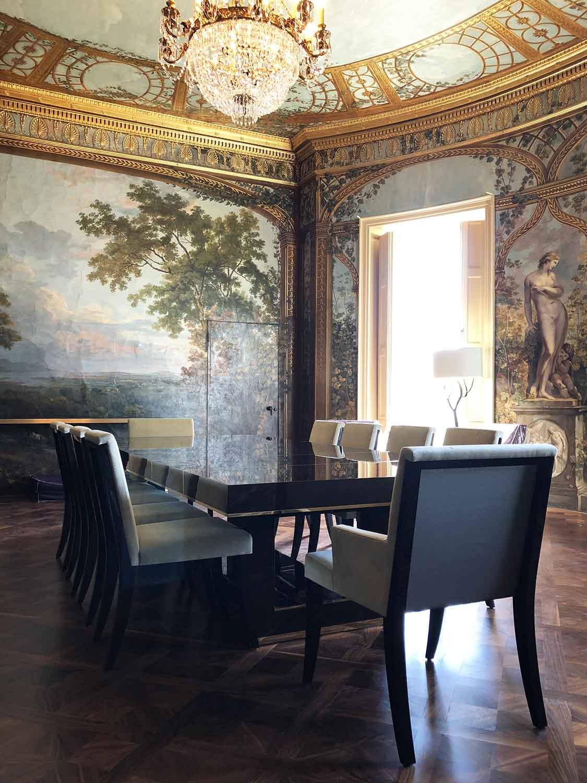 Dining room Decca London