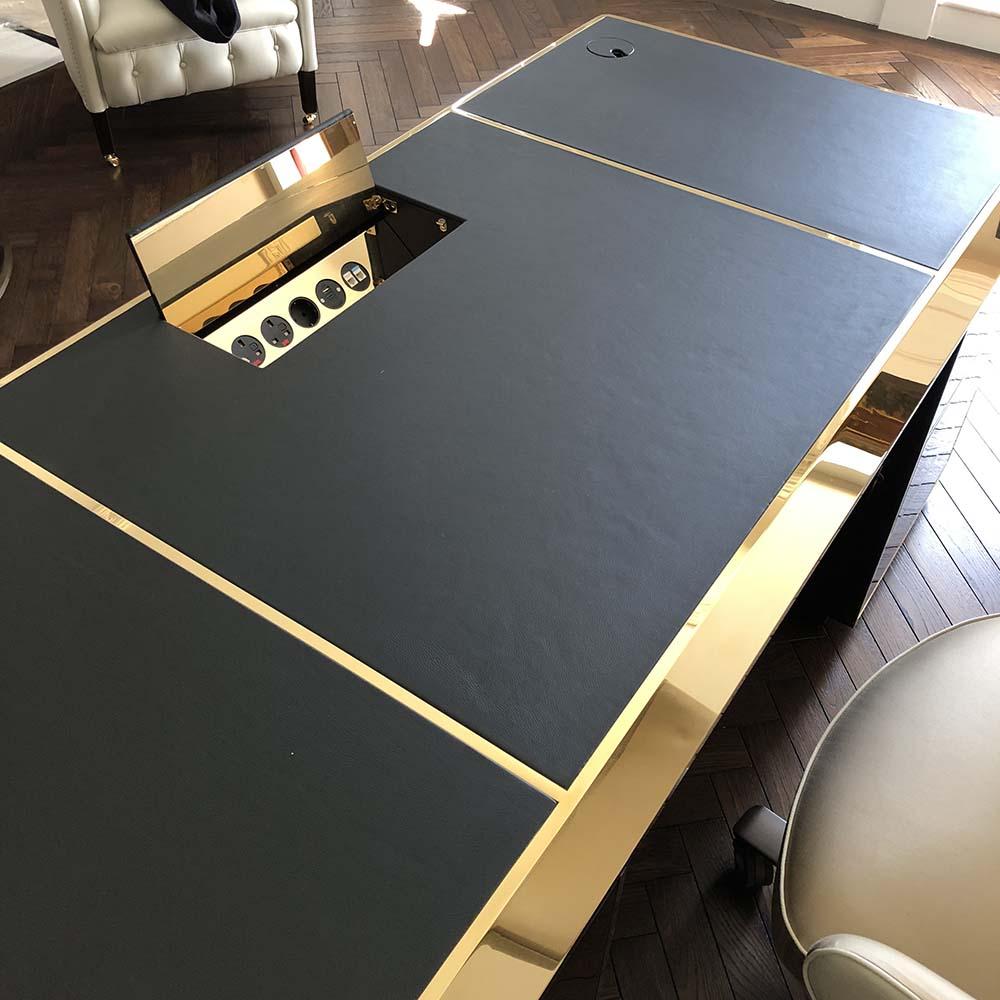 bespoke desk power bar